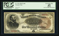 Large Size:Treasury Notes, Fr. 379a $1000 1890 Treasury Note PCGS Apparent Extremely Fine 45.....