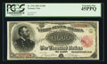 Large Size:Treasury Notes, Fr. 379c $1000 1891 Treasury Note PCGS Extremely Fine 45PPQ.. ...