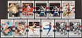 Autographs:Bats, Olympics Hall of Fame Greats Signed Cards Lot of 140+....