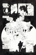 Original Comic Art:Panel Pages, Frank Miller and Klaus Janson Batman: The Dark KnightReturns #4 Final Page 47 Original Art (DC, 1986)....