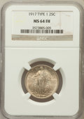 Standing Liberty Quarters: , 1917 25C Type One MS64 Full Head NGC. NGC Census: (1264/1098). PCGSPopulation (1666/1410). Mintage: 8,740,000. Numismedia ...