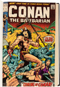 Bronze Age (1970-1979):Miscellaneous, Conan the Barbarian #1-45 Bound Volumes (Marvel, 1970-74)....(Total: 4 Items)
