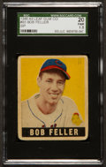 Baseball Cards:Singles (1940-1949), 1948 Leaf Bob Feller SP #93 SGC 20 Fair 1.5....
