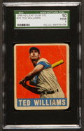 Baseball Cards:Singles (1940-1949), 1948 Leaf Ted Williams #76 SGC 10 Poor 1....