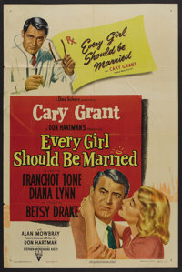 """Every Girl Should Be Married (RKO, 1948). One Sheet (27"""" X 41""""). Comedy"""