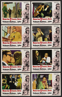 """Funeral in Berlin (Paramount, 1966). Lobby Card Set of 8 (11"""" X 14""""). Thriller"""