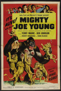 "Movie Posters:Adventure, Mighty Joe Young (RKO, R-1953). One Sheet (27"" X 41""). Adventure...."