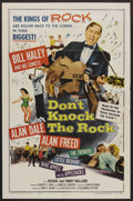 """Movie Posters:Rock and Roll, Don't Knock The Rock (Columbia, 1957). One Sheet (27"""" X 41""""). Rockand Roll. ..."""