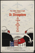 """Movie Posters:Comedy, Dr. Strangelove or: How I Learned to Stop Worrying and Love theBomb. (Columbia, 1964). One Sheet (27"""" X 41""""). Comedy. ..."""
