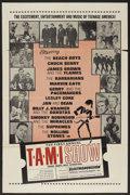 "Movie Posters:Rock and Roll, The T.A.M.I. Show (American International, 1964). One Sheet (27"" X41""). Rock and Roll. ..."