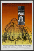 "Movie Posters:Science Fiction, Planet of the Apes (20th Century Fox, 1968). One Sheet (27"" X 41"").Science Fiction. ..."