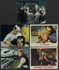 "Movie Posters:War, The Sand Pebbles Lot (20th Century Fox, 1966). Lobby Cards (3) (11""X 14""). War. ..."