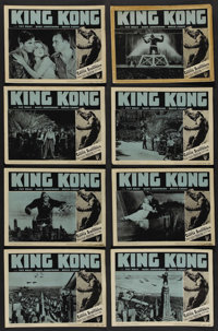 "King Kong (RKO, R-1952). Lobby Card Set of 8 (11"" X 14""). Horror. ... (Total: 8 Items)"