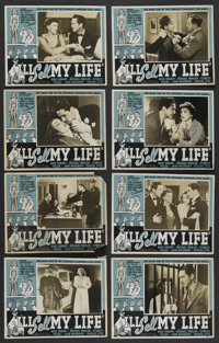 """I'll Sell My Life (Select Attractions, 1941). Photo Lobby Card Set of 8 (11"""" X 14""""). Drama"""