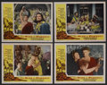 "Movie Posters:Adventure, The Sins of Pompeii (Franco London Films, 1950). Lobby Card Set of4 (11"" X 14""). Adventure. ..."