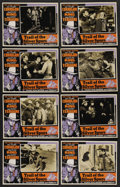 """Movie Posters:Western, Trail of the Silver Spurs (Monogram, 1941). Photo Lobby Card Set of 8 (11"""" X 14""""). Western. ..."""
