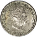 Coins of Hawaii: , 1883 25C Hawaii Quarter MS62 ANACS. NGC Census: (70/373). PCGSPopulation (135/643). Mintage: 500,000. (#10987)...