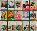 Football Cards:Lots, 1960 - 1964 Fleer, Philadelphia and Post Cereal Football Card Collection (185). ...