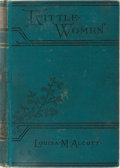 Books:Children's Books, Louisa May Alcott. Little Women. Little, Brown, 1899. Lateredition. Two parts in one small octavo volume. Some ...