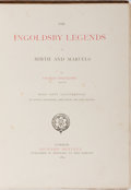 Books:Literature Pre-1900, [George Cruikshank, John Leech and John Tenniel, illustrators].Thomas Ingoldsby. The Ingoldsby Legends. Bentley, 18...