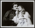 Miscellaneous Collectibles:General, Johnny and June Carter Cash Multi Signed Photograph....