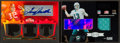 Football Cards:Singles (1970-Now), 2000's Marino/Griese & Bradshaw Autographed/Jersey LimitedEdition Insert Card Pair (2). ...