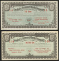 Obsoletes By State:Minnesota, Isle, MN- Savings Account Check Company/S. Nyquist & Son/StateBank of Isle 1/5 Cent circa 1910s-20s. Lakefield, MN- Savin...(Total: 2 notes)