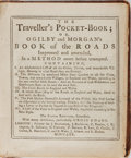 Books:Travels & Voyages, [Guide Books]. John Ogilby and [William] Moran. The Traveller'sPocket-Book. Brotherton, et al., 1770. Fifth edition...