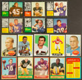 Football Cards:Lots, 1959 - 1964 Topps Football Card Collection (437). ...