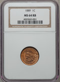 Indian Cents: , 1889 1C MS64 Red and Brown NGC. NGC Census: (164/88). PCGSPopulation (178/24). Mintage: 48,869,360. Numismedia Wsl. Price ...