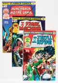 Bronze Age (1970-1979):Classics Illustrated, Marvel Classics Comics Group (Marvel, 1976-77) Condition: AverageVF/NM.... (Total: 23 Comic Books)