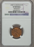 Lincoln Cents: , 1909-S 1C -- Whizzed -- NGC Details. VF. NGC Census: (157/904).PCGS Population (243/1639). Mintage: 1,825,000. Numismedia ...