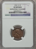 Lincoln Cents: , 1931-S 1C -- Improperly Cleaned -- NGC Details. XF. NGC Census:(170/905). PCGS Population (331/1470). Mintage: 866,000. Nu...