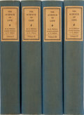 Books:Science & Technology, H. G. Wells, Julian Huxley, G. P. Wells. SIGNED LIMITED EDITION. The Science of Life. Doubleday, Doran, 1931. Firs... (Total: 4 Items)