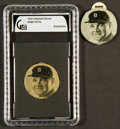 "Baseball Collectibles:Others, 1935 Quaker Oats Babe Ruth ""Braves"" Celluloid Scorer Pair (2)...."