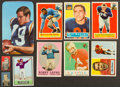 Football Cards:Lots, 1950-1971 Topps Football Card & Wrapper Collection (102) With Stars, Superstars & HoFers. ...