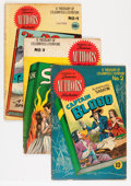 Golden Age (1938-1955):Classics Illustrated, Stories by Famous Authors Illustrated Group (Seaboard Pub., 1950-51) Condition: Average VG-.... (Total: 10 Comic Books)