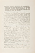 Books:Social Sciences, [H. G. Wells]. The Labour Ideal of Education. [PelicanPress, n.d., 1923]. First edition of this single-page leaflet...