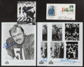 Football Collectibles:Others, Chicago Bears Greats Signed Memorabilia Lot of 12....