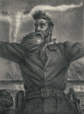 Fine Art - Work on Paper:Print, JOHN STEUART CURRY (American, 1897-1946). John Brown (Cole34), 1939. Lithograph. 14-3/4 x 11 inches (37.5 x 27.9 cm) (i...