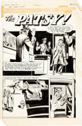 "Original Comic Art:Complete Story, Police Trap #2 Complete 5-Page Story ""The Patsy"" OriginalArt (Mainline, 1954)...."