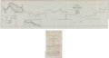 Miscellaneous:Maps, [Map]. United States War Department. Sketch of the Sabine River Lake and Pass from Camp Sabine to the Gulf....
