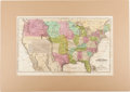 Miscellaneous:Maps, [Map]. [Jesse] Olney. Map of the United States to IllustrateOlney's School Geography....