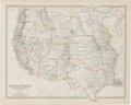 Miscellaneous:Maps, [Map]. Keith Johnston. United States of North America (Western States)....