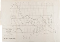 [Map]. Committee on the Judiciary. Tracing of Red River Taken From Map of the United States