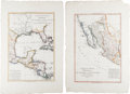Miscellaneous:Maps, [Maps]. Two [Charles-Marie Rigobert] Bonne Maps... (Total: 2 Items)