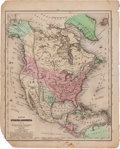 Miscellaneous:Maps, [Map]. Jesse Olney. Map of North America to Illustrate Olney'sSchool Geography....