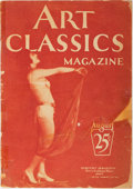 Books:Photography, [Photography]. Art Classics Magazine. August issue. King, [n.d., ca. 1920's]. Quarto. Mainly tinted photos of fe...