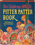 Books:Children's Books, [Children's Books]. The Children's Annual Pitter PatterBook. Whitman, [1929]. First edition. Illustrated. Paper...
