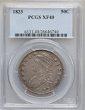 Bust Half Dollars: , 1823 50C XF40 PCGS. PCGS Population (87/621). NGC Census: (44/588).Mintage: 1,694,200. Numismedia Wsl. Price for problem f...